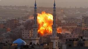 gaza unter beschuss