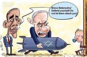 netanjahu und obama