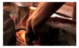 stiramento del seno fuoco in camerun