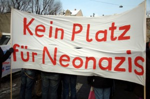 kein platz für neonazis