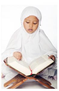 muslimische mädchen koranschule